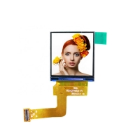 Quality 350Cd/M2 1.54Inch 128X128 Small Smart TFT Display wholesale