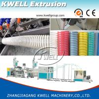 Quality CE Certified 12-200mm Flexible PVC Spiral Hose Making Machine, Corrosion Protection Hose for Conveying Water/Oil/Dust wholesale