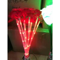 China Outdoor ROSE flower LED Fairy String Lights Christmas Party Wedding Holiday Decoration  light on sale