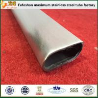 Cheap ERW Customized Welded Stainless Steel Groove Tube for sale