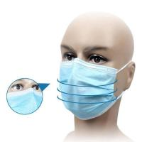 Quality Waterproof Disposable Medical Mask For House Cleaning / Infant And Elderly Care wholesale