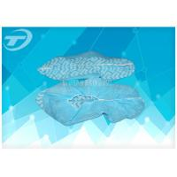 China Non woven blue pp disposable surgical shoe cover for Medical use on sale