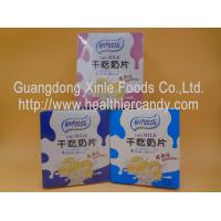 Cheap DOSMC Low Fat Chocolate Milk Tablet Candy With Fresh / Real Raw Material for sale