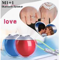 Quality Red Blue BK3.0 Cube Bluetooth Speaker Ball 5.8CM Diameter Plastic Material wholesale