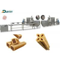 Buy cheap Twin Color Twisted Shape Pet Food Machine Chewing Gum Dog Snacks Production Line from wholesalers