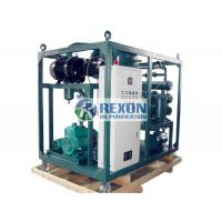 China High Voltage Transformer Oil Purifier Machine Insulating Oil Cleaning And Maintenance Plant on sale