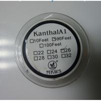 China Electronic Cigarette Kanthal A1 Heat Wire VAPE DIY wire 22-32GA/100FT 30m on sale