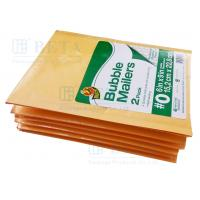 Quality Retail Shrink Pack Kraft Bubble Mailer 2pk #0 With Custom Label wholesale