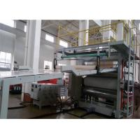 Quality PVC Artificial Marble Sheet Extrusion Line , Wall Panel Production Line for Interior Decoration wholesale