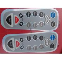 China Flexible Backlit Membrane Switch Remote Controller Push Button Touch Panels on sale