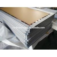 China Cutting aluminum screen frame with miter saw, 2018 Extruded aluminum screen frame stock china aluminum extrusion on sale