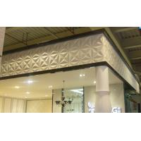 Quality PVC 3D Background Wall Exterior / Interior Wall Paneling Tiles wholesale