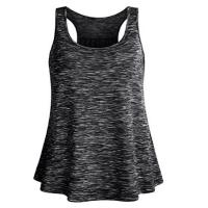 China Regular Length Women'S Sequin Tank Tops / Girls Cotton Tank Tops Dot Pattern on sale