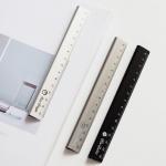 Silver 30cm Aluminium Extrusion Profiles Alkali Anodized Aluminum Ruler