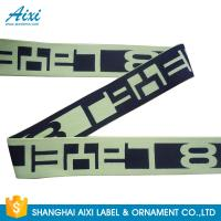 Quality Printed Elastic Waistband 20MM - 50MM Jacquard Elastic Waistband For Underwear / Cothing wholesale