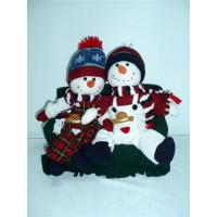 Quality Couple Snowmen Toddler  Educational Toys for Preschoolers sitting on Sofa   wholesale