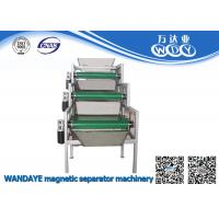 Quality 3 layer Permanent Magnetic Separator , Conveyor Belt Magnetic Roller Separator wholesale