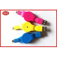 Quality Customized Retractable Micro USB Cable , Colorful V2.0 Micro USB OTG Cable wholesale