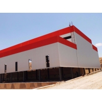 China Buildings Quick Warehouse Galvanised Prefabricated Steel Structures on sale