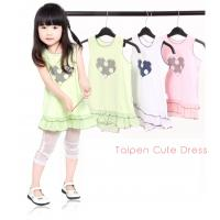 China OEM 0 - 24M  polyester combo Cap sleeve Cotton knitted baby pageant dresses for baby girl on sale