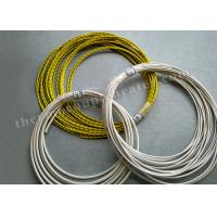 Quality FEP / FEP CMP High Temperature Wire 1 X 1000 Ft 24 / 2 Stranded Shielded Plenum wholesale