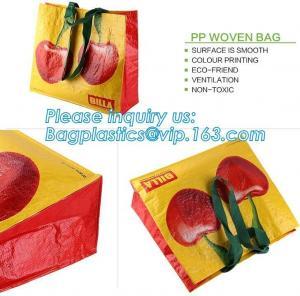 China pp woven bag, silk screen, heat transfer, glossy film lamination, offset printing, pp weaved fabric, pvc, nulon, oem, pa on sale
