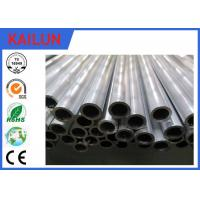 China 25mm / 30 mm Cutting Extruded Aluminium Tube With Mill Finish Treatment on sale
