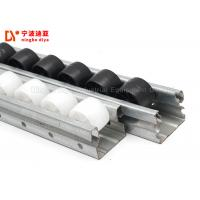 Quality Industrial Plastic Roller Track Cold Welded White / Yellow Color For Production Line wholesale