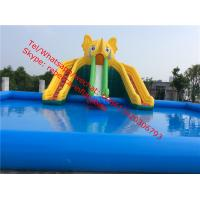 Quality  Inflatable Water Slide Inflatable Slide Pool Slide Water Park  Inflatable Games wholesale