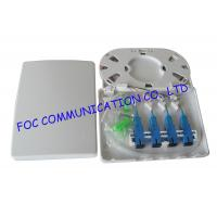 Quality 4 Port Fiber Optic Terminal Box Full Loaded With Adapters and Pigtails wholesale