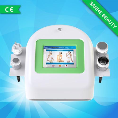 Cheap Skin Tightening Ultrasonic Cavitation Slimming Machine , Spa RF Ipl Beauty Machine for sale