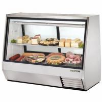 China 304 Stainless Steel Refrigerated Deli Case Excellent Cooling Performance on sale