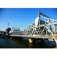 Quality Low Cost Heavy Structural Steel Bridge Fabrication Fast Assembling wholesale