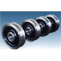 Quality Steel Crane Wheels Hub For Lifter , Flange Fracture Resistant wholesale
