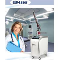 Buy cheap Q Switched Nd Yag Laser Pigmentation Removal Machine With 7 Articular Diaphragm Arm from wholesalers