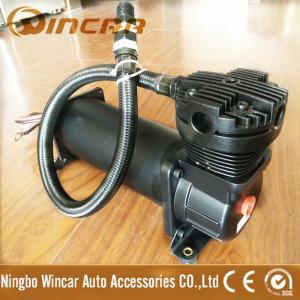 Quality Black Color Suspension 12V Portable Air Compressor For Car Tires CE Approved wholesale