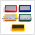 LOGO rectangle plastic magnet for sale