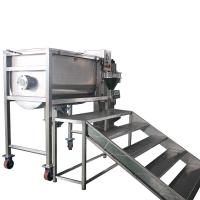 Quality Coffee Powder Spice Powder Ribbon Mixer Machine By Electric And Air wholesale