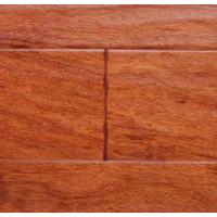 China Wire-Brushed Bubinga Engineered Wood Flooring (F0000E54) on sale