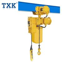 Quality DIIBT4 Explosion Proof Chain Hoist 5 Ton F Class CE Certification For Special Working Environment wholesale