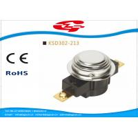 Quality UL TUV Bimetal Snap Disc Thermostat KSD302 For Thermal Protecter Temperature Limiter wholesale