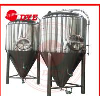 Quality 1000L Automatic Conical Beer Fermenter , Micro Beer Brewing Equipment wholesale