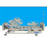 China Steel Powder Coated Electric Hospital Bed Full Size 10 Years Warranty on sale