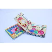 China 3D Effect Children Flip Card Book Printing Service , Die Cutting With Picture Printing on sale