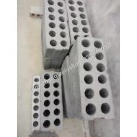China high frenquency hydraulic double row hole green egde concrete precase wall panel extruder machine on sale
