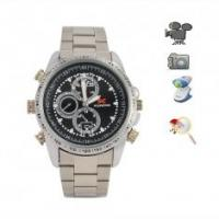 Quality High Quality Stainless Steel Wrist Spy Camera Watch Camcorder DVR -- Japanese Movement wholesale