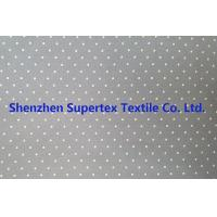 Quality Cotton Twill Dot Print Elastic Stretch Fabric 32S 40D 180GSM wholesale