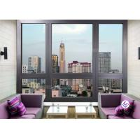 Soundproof Glass Profile Aluminium Bifold Window And Door Standard Size