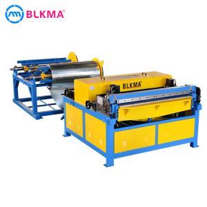 China BLKMA auto ventilation sheet metal hvac air duct line 3 on sale