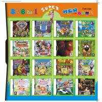 Quality 366 in 1 366 in one Multi games Card for DS/DSI/DSXL/3DS Game Console wholesale